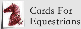 Cards for Equestrians